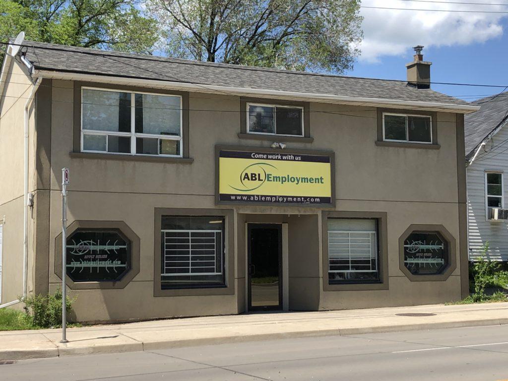 Exterior photo of the ABL Hamilton office building