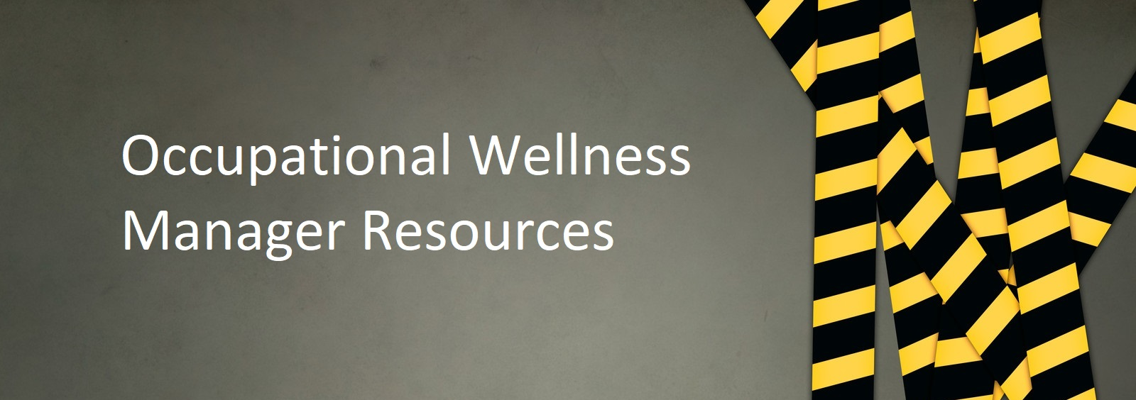 ABL's Occupational Wellness Manager