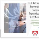 """FREE Red Cross Certification Course: """"Preventing Disease Transmission"""" Available Now"""
