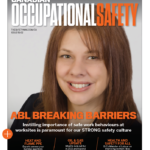 Cover Image of Canadian Occupational Safety Magazine featuring ABL's Carla Villalta